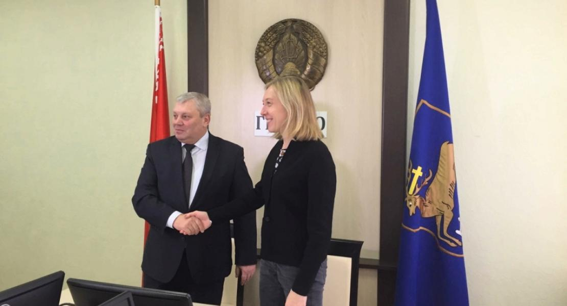 Hrodna undertakes to reduce greenhouse gas emissions